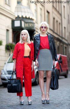Best #StreetStyle looks at Stockholm #FashionWeek