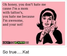 Image result for awesome tattoo mom meme