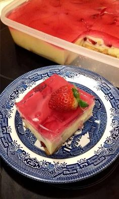 Greek Desserts, Cold Desserts, Sweets Cake, Jello, Chocolate Cake, Biscuits, Sweet Tooth, Cheesecake, Cooking