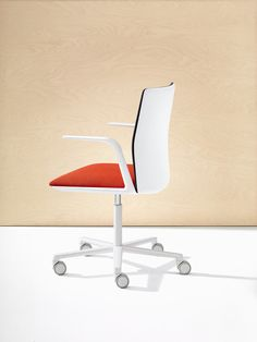 Arper's Kinesit chair, launched at Orgatec 2014.