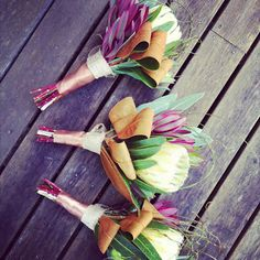Cara Clark Design: Native Theme Wedding Flowers