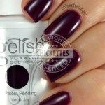 Gelish Plum and Done Swatch