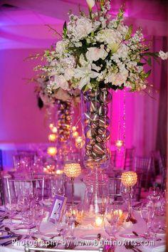 Stunning #wedding #reception at @Islamorada, #Florida. #Wedding #Decoration Picture by #DominoArts #Photography (www.DominoArts.com)