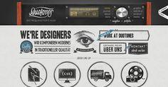 #Creative websites, Duotones #webdesign