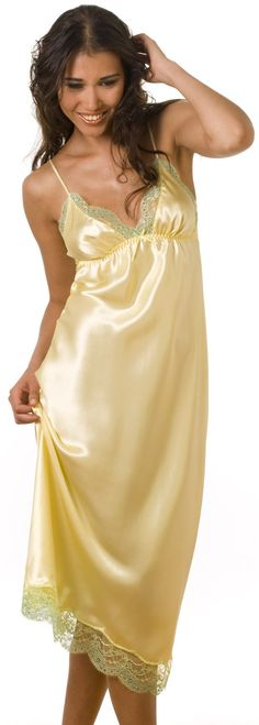 Sulis Silks Genevieve pure silk retro nightdress nightgown made in Britain
