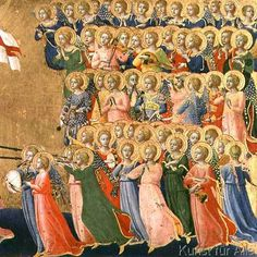 glorified in the court of heaven fra angelico as New Jerusalem, Fra Angelico, Names Of Artists, Custom Posters, We The People, Custom Framing, Renaissance, Medieval, Musicals