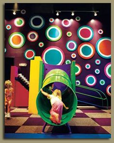 Austin Children's Museum...I like the colored dots