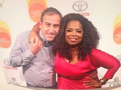 Rob and Oprah. Can't wait to work with this wonderful MD Ob/Gyn. He's a Midwife at heart all the way!