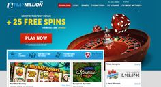 We've tested many aspects of this online casino and #PlayMillionCasino seemed to pass all with flying colors. You can read our #onlinecasinoreview for more details. They use the latest fair gaming technologies and work very closely with GamCare and other providers which show signs of them taking great responsibility for problem gamblers.      #PlayMillionCasino #MobileCasinoReviews #DepositBonus