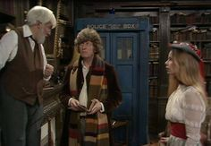Here is the Professor, the Doctor and Romana taking tea in episode one of Shada.