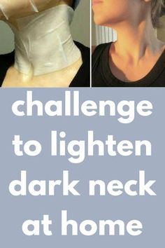 challenge to lighten dark neck at home Today I will share an amazing neck scrub which will exfoliate your neck by removing the dirt darkness and impurities. It will clear the skin and will give you fa Skin Tips, Skin Care Tips, Dark Neck Remedies, Lighten Skin, Challenge, Sagging Skin, Homemade Skin Care, Acne Skin, Skin Brightening