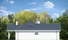 Красивый дом с большим гаражом и с чердачным помещением S8-227-5 (Дом на Парковой). Фасад 4. Shop-project