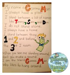 Swimming Into Second: Commas and Nouns