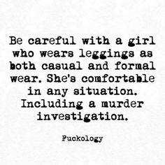 Or sweatpants! (I am not a leggings kinda gal..lol)