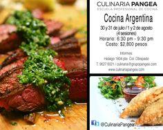 Cursos de Cocina Argentina / 30 de julio al 2 de agosto / Culinaria Pangea