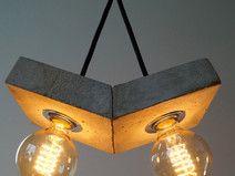 """papilio""   Betonlampe. Hängelampe. Deckenleuchte. ------------------------------Lamp, Lampe, Beton, Design, Concrete, Fabric Cable, concrete lamp, Hängelampe, pendant,  industrial, Lampe, Beton,  Textilkabel"