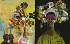 New paintings by OLAF HAJEK