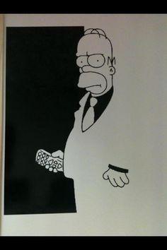 Homer/Scarface