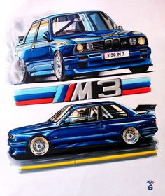 DeviantArt - Discover The Largest Online Art Gallery and Community - Page 183 Bmw E30 M3, Bmw Performance, Bavarian Motor Works, Bmw Autos, Bmw Love, Bmw 2002, Car Illustration, Car Posters, Car Drawings