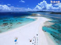 Kume-island in Okinawa Japan