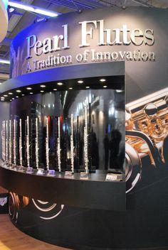 Querflöten von Pearl auf der Musikmesse #Pearl   #Flutes #Musikmesse