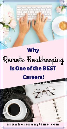 With more companies conducting their business online, it's easier than ever to start a new business from home. But what is the best work-at-home career? Bookkeeping is one of the most lucrative ways to work from home while keeping a flexible schedule - here's what you need to know! #homebusiness #entrepreneur #bookkeeping #careertips