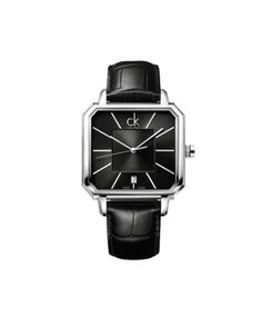 Calvin Klein Square Dial Leather Strap Watch-For Men  #ohnineone #watch