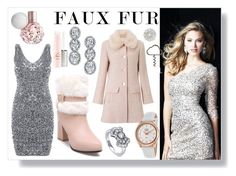 Faux Fur reloaded by majalina123 on Polyvore featuring polyvore, fashion, style, Miss Selfridge, Rotary, Harry Kotlar, BERRICLE, Nadri and clothing