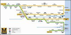 Newcastle upon Tyne Metro Map St. James Park, Newcastle Metro, London Underground Tube Map, Trains, Subway Map, Metro Subway, Metro Map, U Bahn, North East England