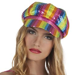 #Lollipop 70s #rainbow hat,  View more on the LINK: 	http://www.zeppy.io/product/gb/2/111430474798/