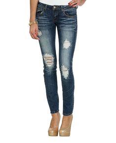 Triple Stitch Skinny Jean