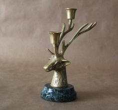 Reindeer, Silver and Candle holders on Pinterest