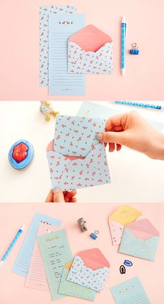 ENVELOPES - Have you received a letter from anyone lately? Wouldn't you like to? Here's a fun & cute way to show someone you are thinking about them!