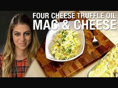 Four Cheese Mac and Cheese with Truffle Oil : Elaine Daneshrad : Food Network - FoodNetwork.com