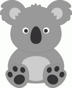 Clip Art Koala Clip Art free cute koala clip art artborders pinterest i think im in love with this shape from the silhouette online store