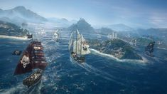 BUILD_THE_ULTIMATE_PIRATE_FLEET Family Logo, World Of Tanks, Skull And Bones, Change The World, Xbox One, North America, Ocean, Adventure, Card Games