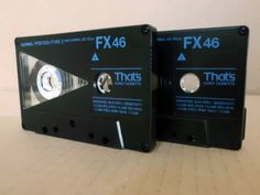 2 x That s FX 46 Type I Audio-Cassetten MC