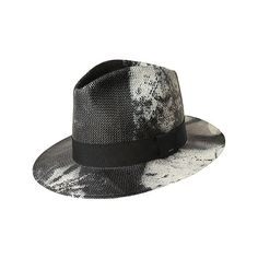 29df7dfbece Men s Bailey of Hollywood Jessup Fedora 63126 - Black Overdye Fedoras  featuring polyvore