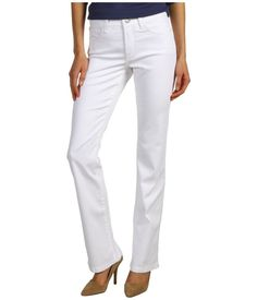 NWT - NYDJ Barbara Bootcut in Optic White Optic White Women's Pants / Jeans 10 #NotYourDaughtersJeans #BootCut