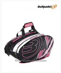 $37 Paletero Bullpadell BPP12002 Rosa  http://www.padelenlared.com/paletero-bullpadell-bpp12002-rosa