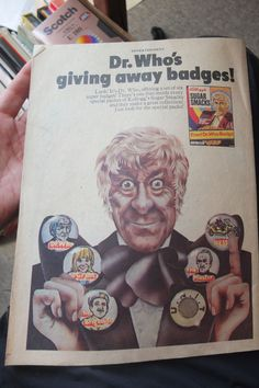 TIGER Comic 1971 6th November John Pertwee Dr Who advert Roy of the Rovers