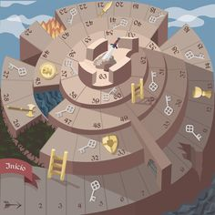 The Fortress of the Sword – Board Game Design Diy Games, Math Games, Free Games, Printable Board Games, Board Game Design, English Games, History Projects, Indoor Games, Tabletop Games