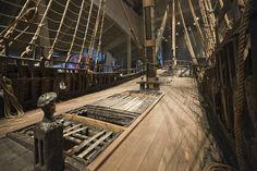 Upper Deck Tall Ship Wasa