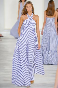 45 Ralph Lauren Spring 2016 Ready-to-Wear Collection Photos - Vogue Fashion Week, Runway Fashion, High Fashion, Fashion Show, Fashion Trends, Fashion 2016, Trendy Fashion, Curvy Fashion, Skirt Fashion