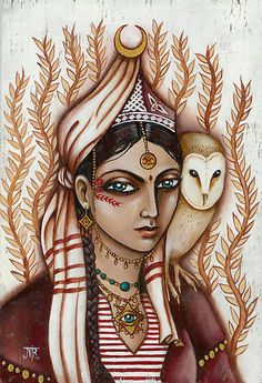 'The Owl Keeper from Catanzaro' by Nadia Turner