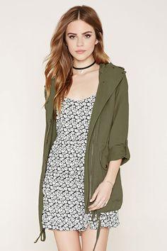 HOODED CARGO JACKET #fashion #style #trend #onlineshop #shoptagr