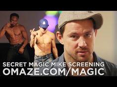 Channing Tatum Dances at Prank Magic Mike XXL Screening - YouTube
