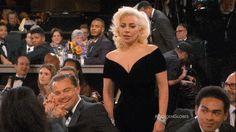 Greatest GIF of 2016 Golden Globes: Leonardo DiCaprio Not Gaga for Lady Gaga