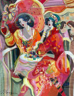 Blog of an Art Admirer: Women in Painting by Israeli Artist Isaac Maimon