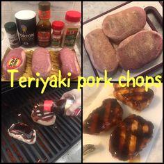 Teriyaki pork chops Teriyaki Pork Chops, Garlic Salt, Allrecipes, Love Food